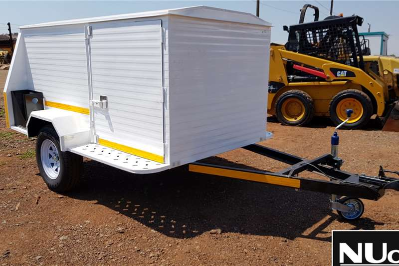 Other Trailers SINGLE AXLE LUGGAGE TRAILER 2019