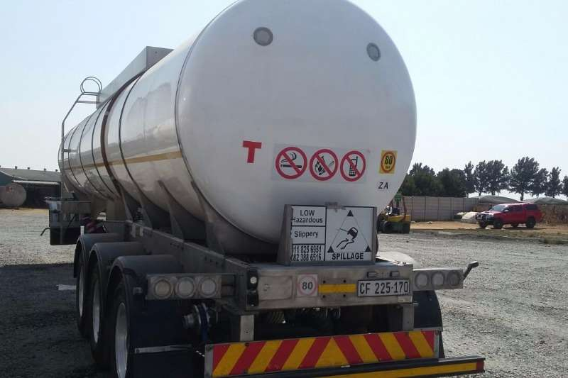 2015 Other 35 000L FOOD GRADE TANKER Stainless Steel Tank ...