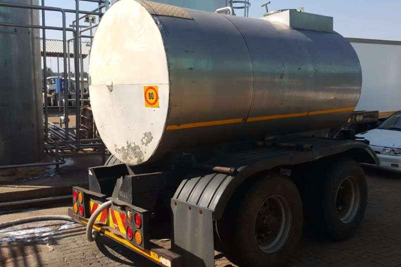 Other Trailers Stainless Steel Trailer 6500lt Pub 1992
