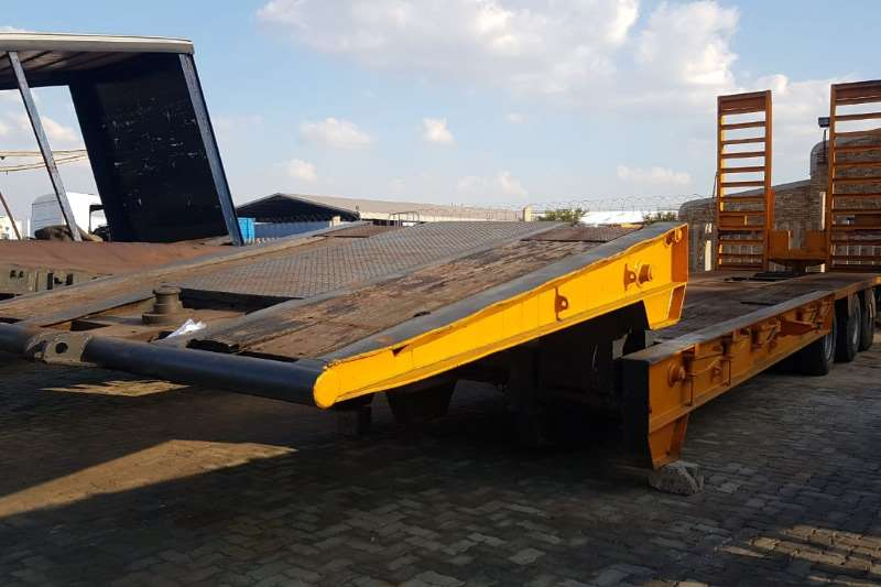 Other Trailers Stepdeck Clipneck 1990