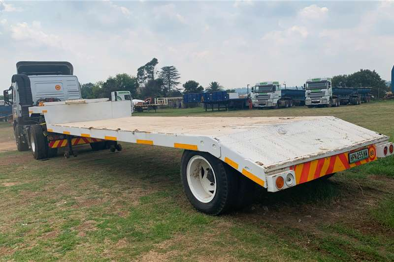 Other Trailers Stepdeck Single Axle Stepdeck Lowbed 1985