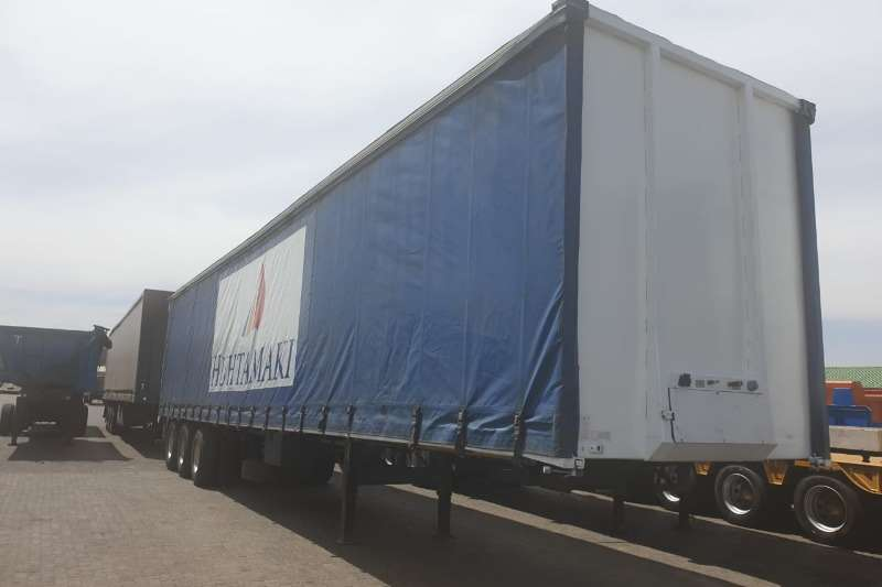 Other Trailers Tautliner 2013 Warrior Tautliner Tri Axle Flat Deck 2013