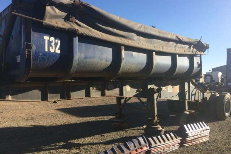 Other Trailers Top Trailer Front Side Tipper Trailer 2008