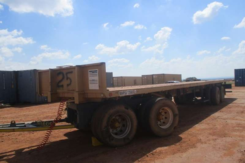 Other Trailers Top Trailers Double Axle Fixed Dolly Drawbar Flatb