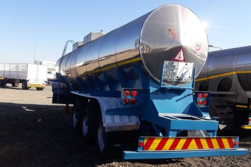 Other Trailers Tri-Axle Monsanto 26,000 Litre Stainless Steel Triaxle Tank 1995