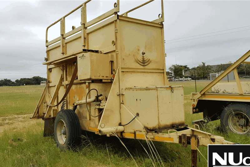 Other Trailers UNIQUE TRAILERS SINGLE AXLE GIRAFFE RECOVERY TRAIL