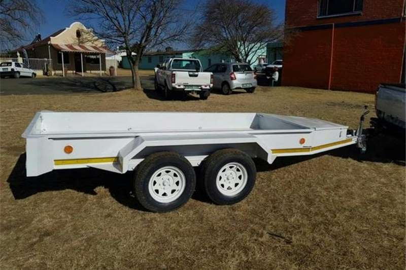Other Trailers Utility Double Axle Trailer with Nosecone