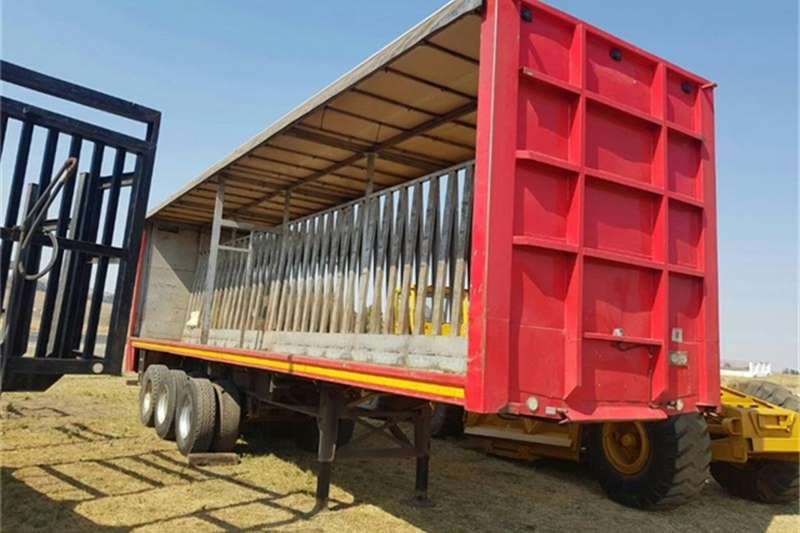 Other  Tri Axle Tautliner Curtain Side Beverage Flat Deck