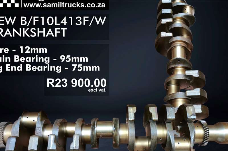 Other NEW B/F10L413F/W Crankshaft Truck spares and parts