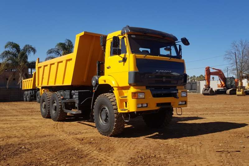 Other Truck Tipping body KAMAZ 65222 63 9 CUBE 6x6 TIPPER 2018