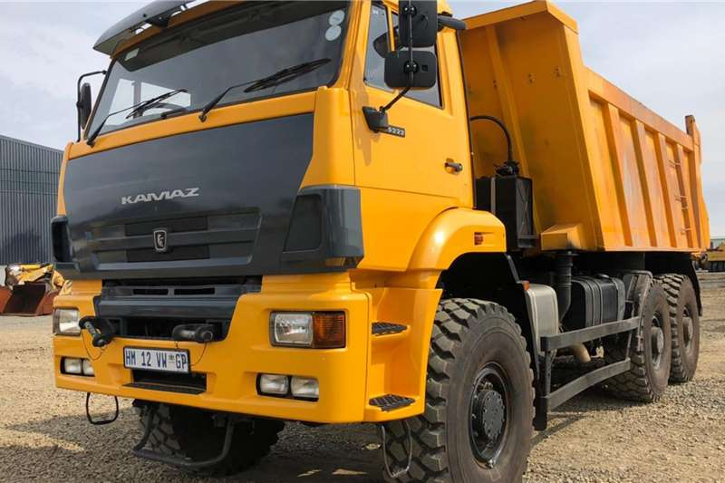 Other Truck Tipping body KAMAZ 65222 63 (9m3) 6x6 TIPPER 2018