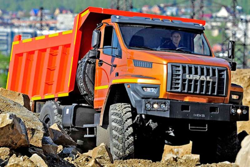 Other Truck Tipping body URAL 16T 6X6 TIPPER 2019