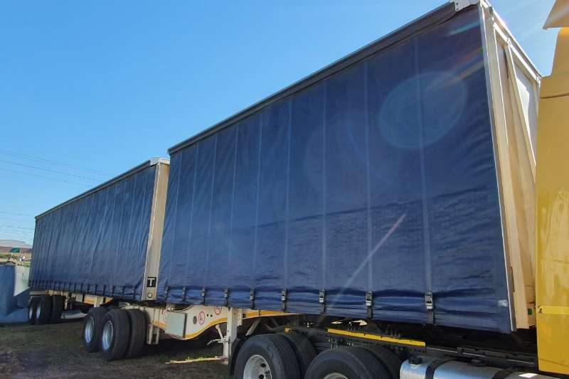 Paramount Trailers Curtain side PARAMOUNT TRAILERS INTERLINK CURTAIN SIDE TRAILER 2016