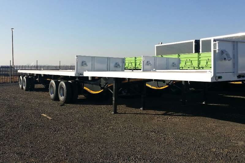 Paramount Trailers Flat deck Super Link 2014