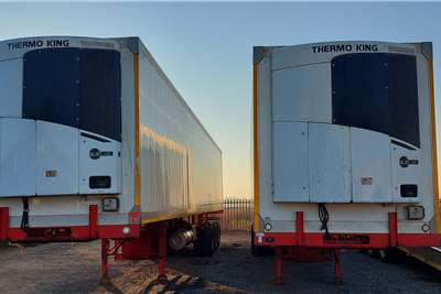 Paramount Refrigerated trailer Triaxle Reefer Body Trailers