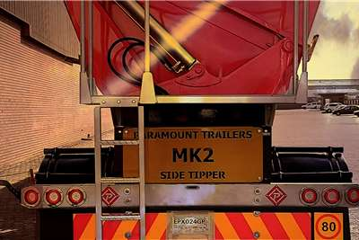 Paramount Side tipper 40 cube Side tipper Trailers