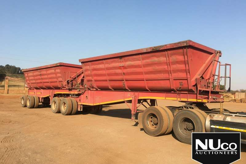 Paramount Trailers Side tipper PARAMOUNT SIDE TIPPER LINK 2014