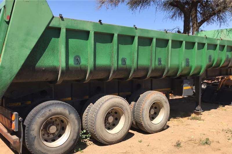 Paramount Slope deck Tri Axle Trailers