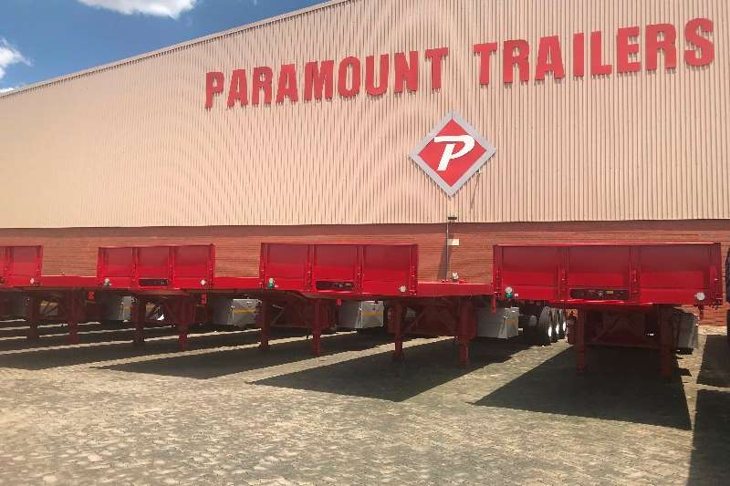 Paramount Trailers Tri-Axle 14.3M Triaxle Export Neck 2019