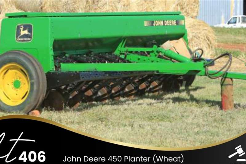 John Deere 450 Planter (Wheat) Planting and seeding equipment