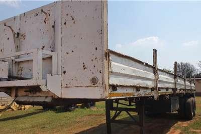 Poole Double axle dropside (12m) Trailers