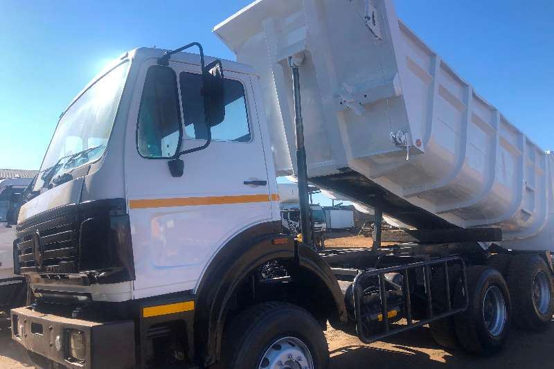 Powerstar Tipper trucks Powerstar 2626 10m3 Tipper 2012