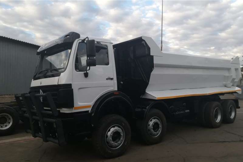 Powerstar Truck 18m Tipper Twin Steer 2012