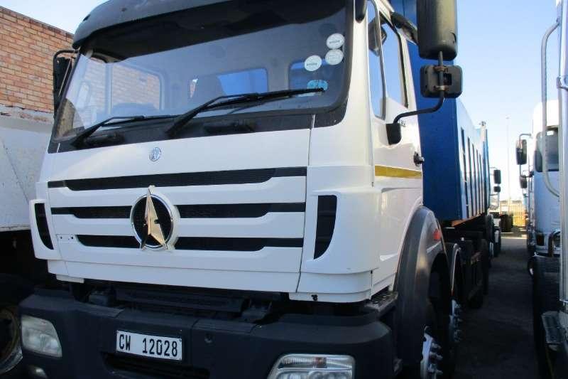 Powerstar Truck 40 35 powerstar 18m Tipper 2014