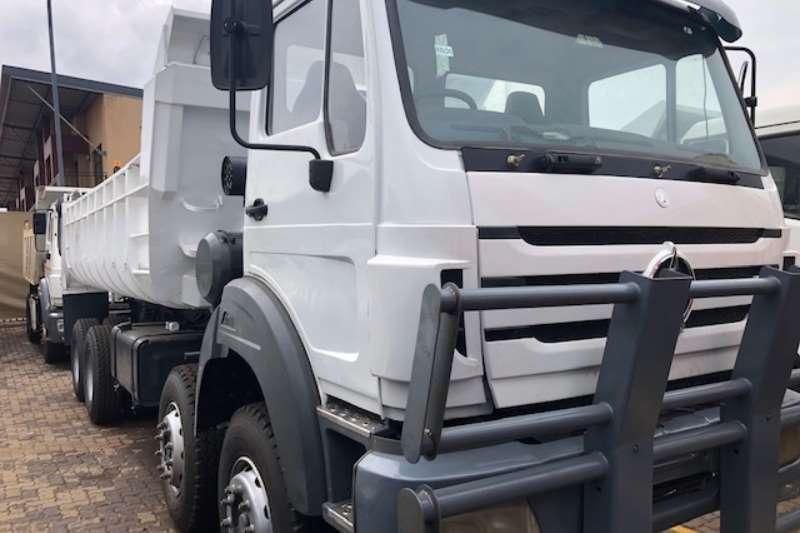 Powerstar Truck 40 35 Twin Steer 18m Tipper 2014