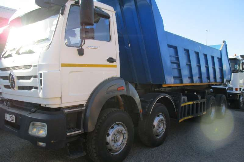 Powerstar Truck 40 35 Twin Steer Tipper 2014