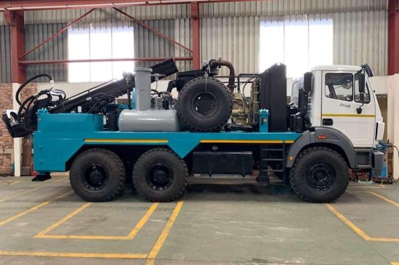 Powerstar Truck Bobcat VERTEX MOUNTED DRILL RIG 2020