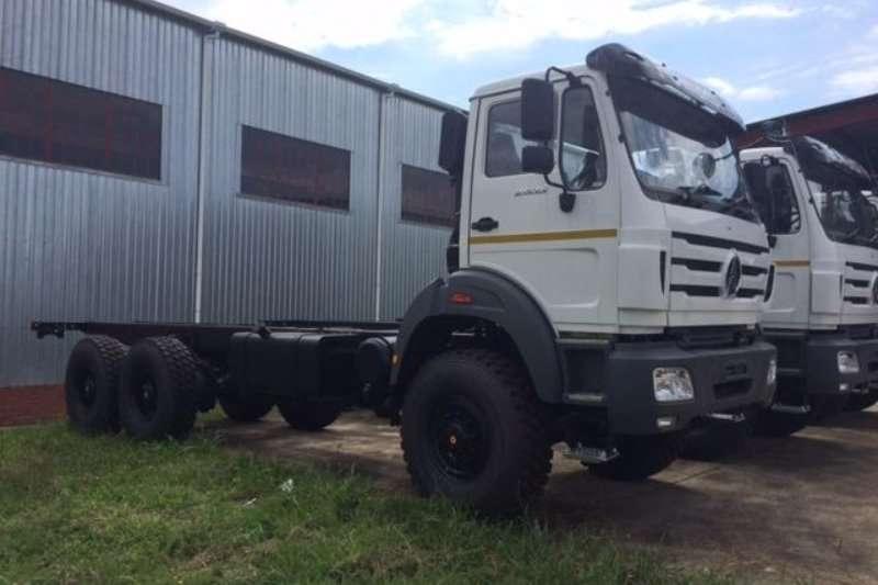 Powerstar Truck Chassis cab 2635 6x6 Rigid 2020