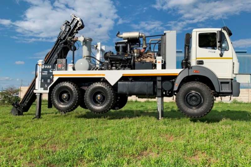 Powerstar Truck NEW Vertex Drilling Machine 2020
