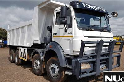 Powerstar POWERSTAR 4035 TWINSTEER TIPPER TRUCK Truck