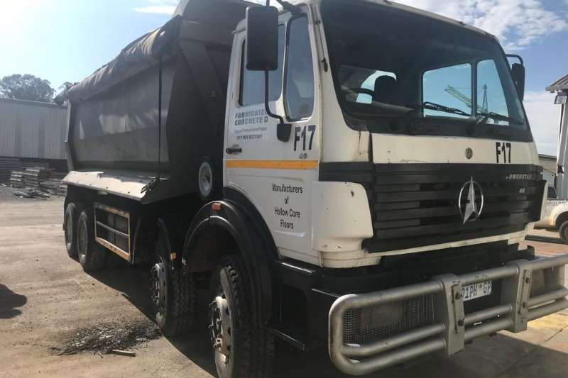 Powerstar Truck Tipper 4035 8X4 TWINSTEER 20 CUB TIPPER 2012