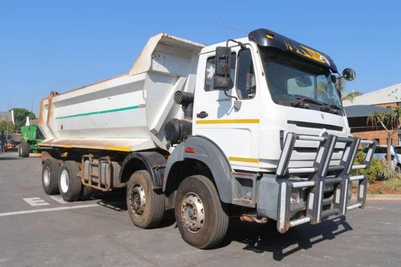 Powerstar Truck Tipper 4042 8x4 Twin Steer Tipper 2013