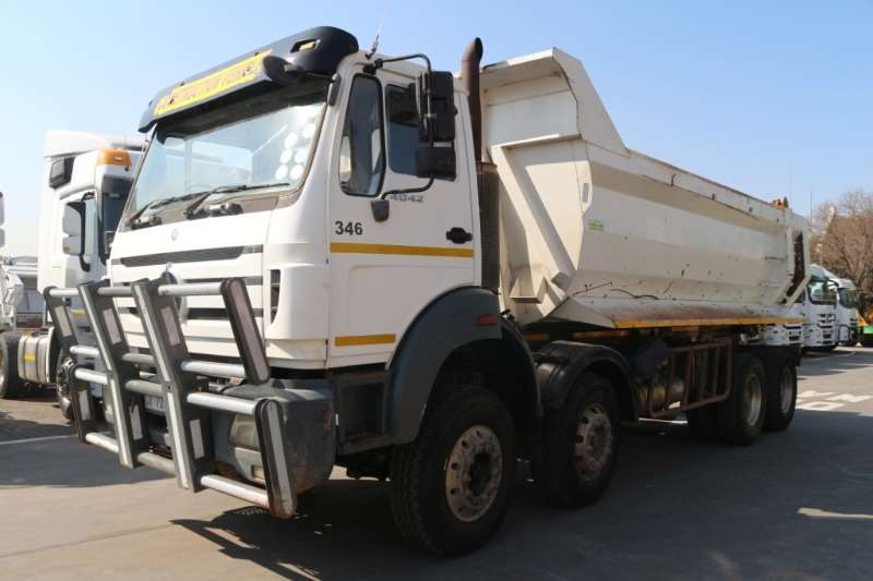 Powerstar Truck Tipper 4042 8x4 Twin Steer Tipper 2013