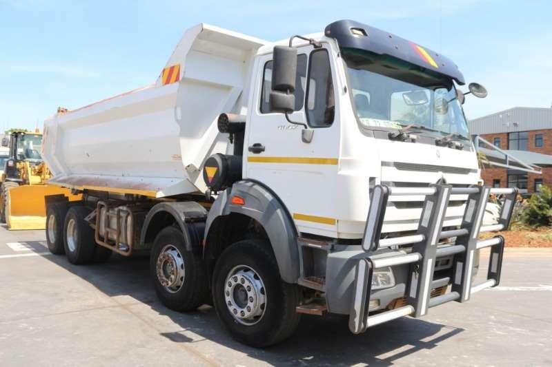 Powerstar Truck Tipper 4042 8x4 Twn Steer Tipper 2013