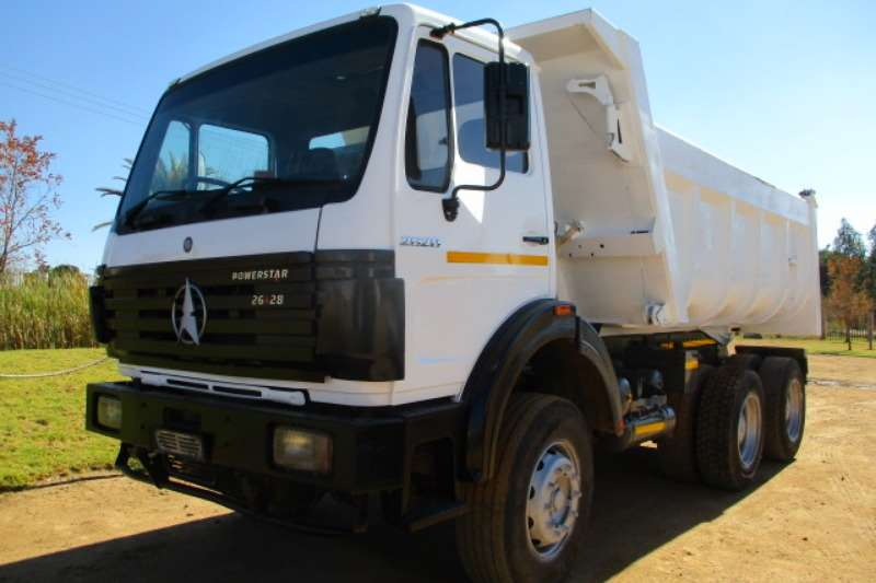 Powerstar Truck Tipper POWERSTAR 2628 10M3 TIPPER 2007