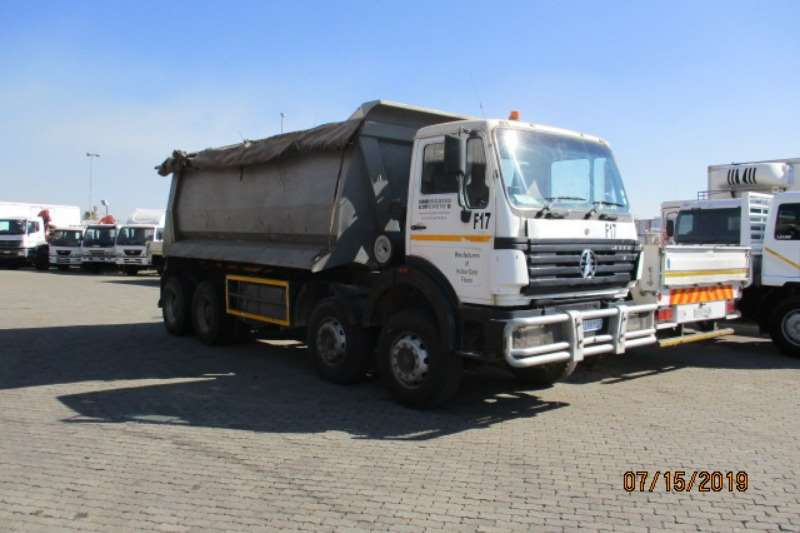 Powerstar Truck Tipper POWERSTAR 40.35 8 X 4 TIPPER 2012