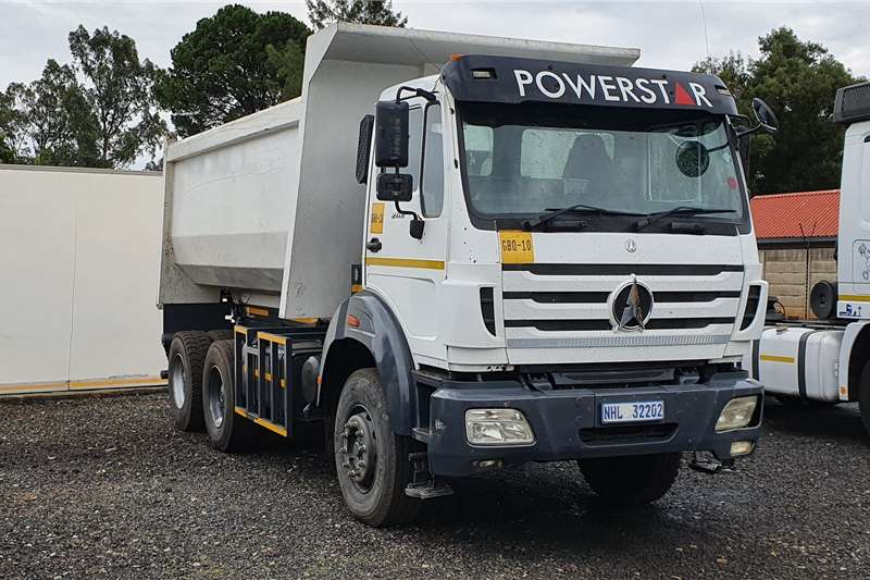 Powerstar Truck Tipping body 2628 12 cub tipper truck 2015