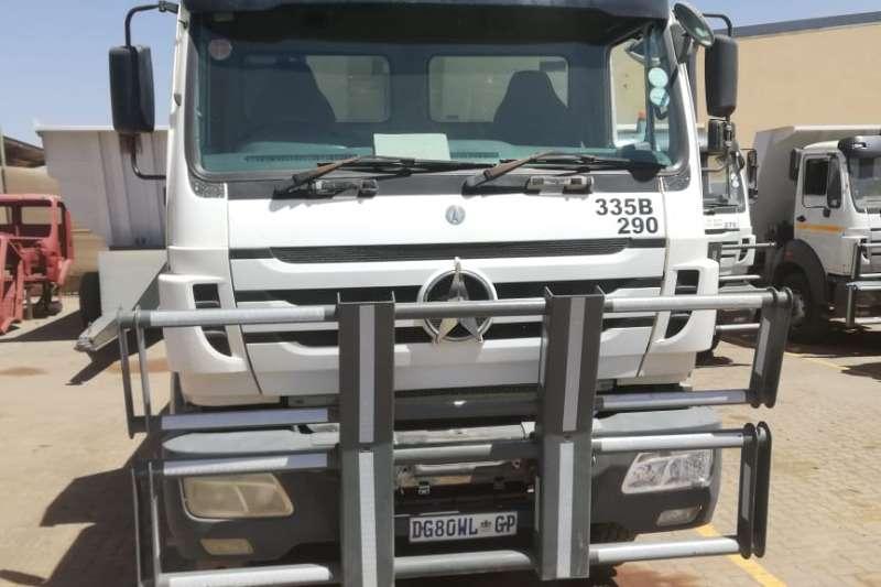 Powerstar Truck-Tractor Double axle 2628VX RT290 10 CUBIC METER TIPPER 2013