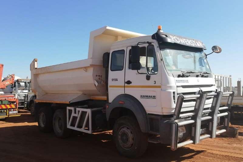 Powerstar Truck-Tractor Double axle 2642VX RT361 10 CUBIC METER TIPPER 2015