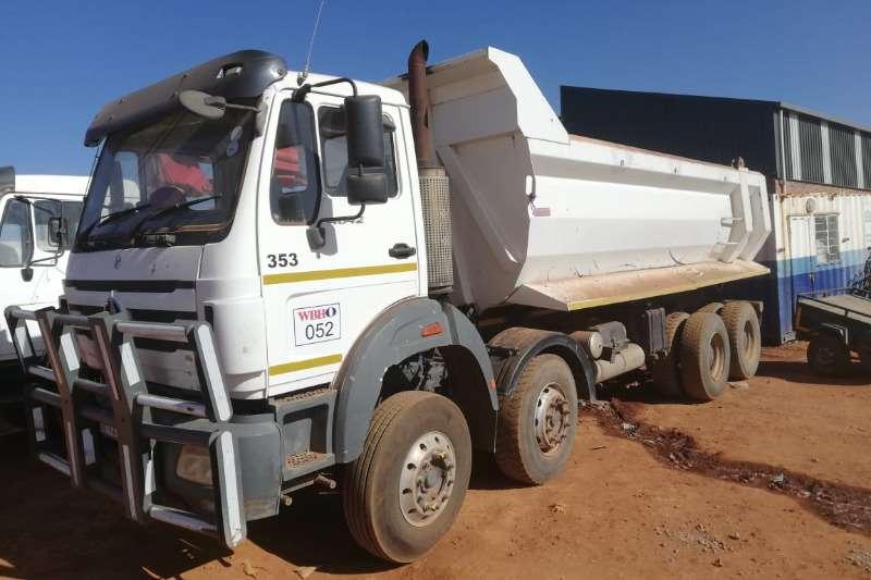 Powerstar Truck-Tractor Double axle 4042VX RT353 16 CUBIC METER TIPPER BIN 2013