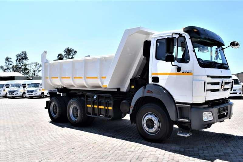 Powerstar Truck tractors Double axle VX 2628 6x4 10 Cubic Tipper 2019