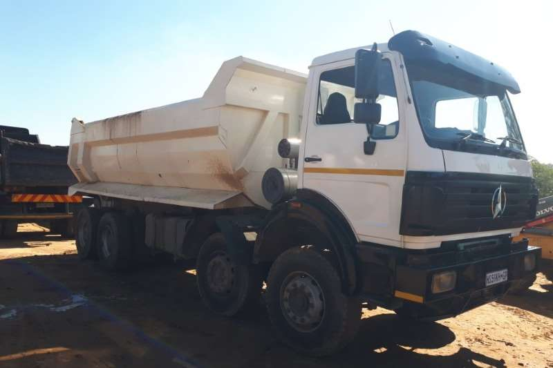 Powerstar Truck Twinsteer with Tipper Bin 2013