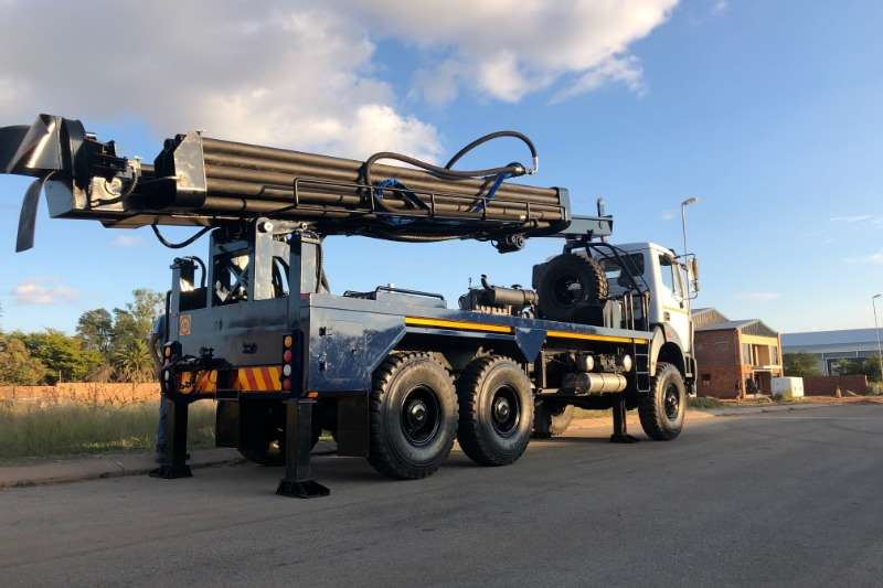 Powerstar Truck VERTEX MOUNTED DRILL RIG 2020