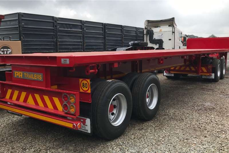 PR Trailers Trailers Flat deck PR TRAILER FLAT DECK SUPERLINK 2020