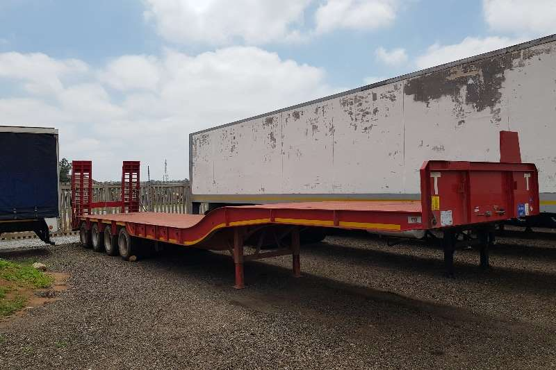 PR Trailers Trailers Goose neck 45 Ton 4 Axle Lowbed 2018