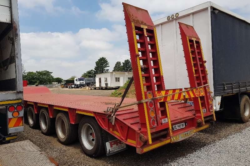 PR Trailers Trailers Stepdeck 4 Axle 45ton Lowbed 2018